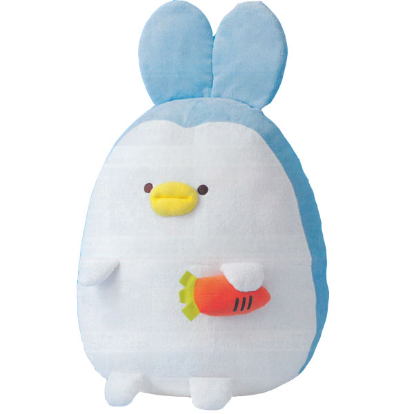 Fancy Aquarium Bunny Penguin L with Carrot