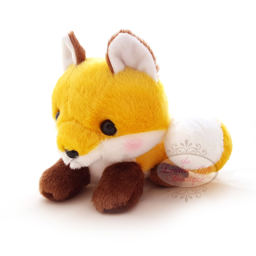 Fox Lying Down M Yellow