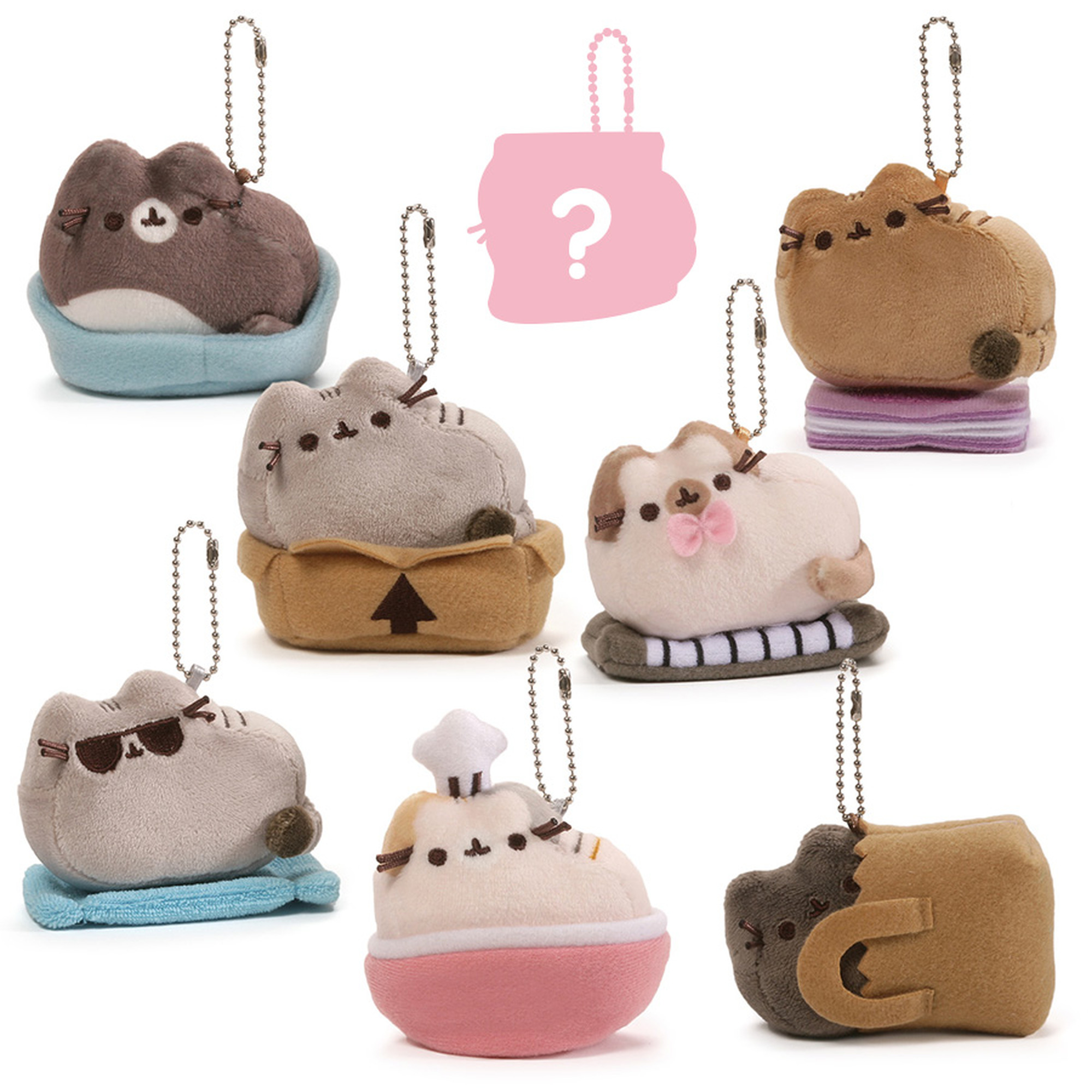 Pusheen Blind Box Plush #3 Places Cats Sit
