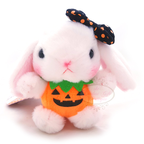 Pote Usa Loppy Halloween Keychain White